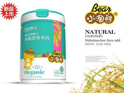益生菌配方有机营养米乳(听装)